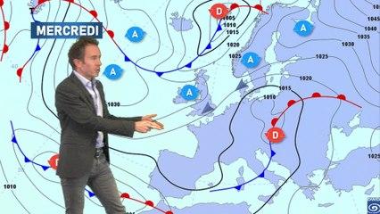 Illustration de l'actualité Bulletin météo pour le mercredi 6 janvier 2021