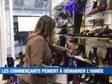 A la Une : Les vaccins arrivent dans la Loire / Les commerçants redoutent 2021 / Les luges et les raquettes à neige au sommet - Le JT - TL7, Télévision loire 7
