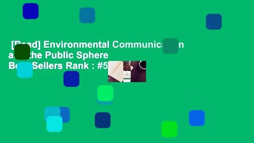 [Read] Environmental Communication and the Public Sphere  Best Sellers Rank : #5