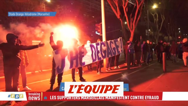 Des supporters appellent Eyraud à la démission - Foot - L1 - OM