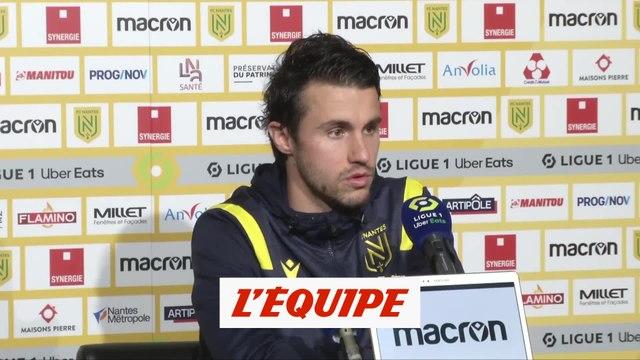 Corchia : «Déçu de ne pas avoir gagné» - Foot - L1 - Nantes