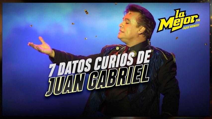 "7 Datos curiosos sobre Juan Gabriel ""El Divo de Juárez"""