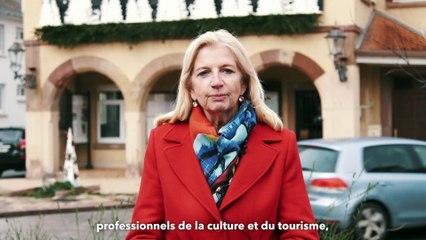 Pia Imbs, Présidente de l'Eurometropole de Strasbourg vous souhaite ses voeux pour 2021 !