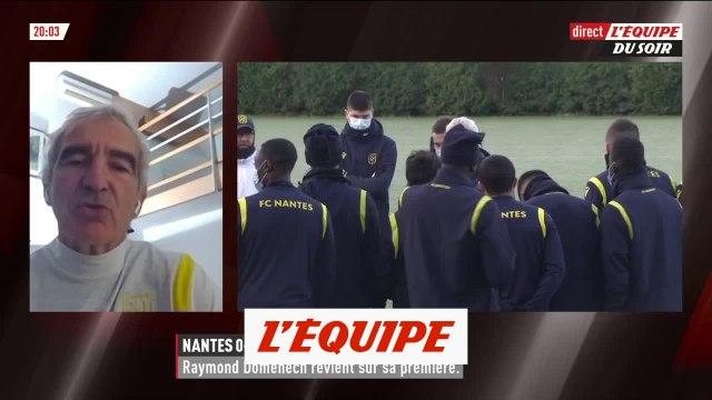 Domenech : « On peut améliorer la gestion offensive » - Foot - L1 - Nantes