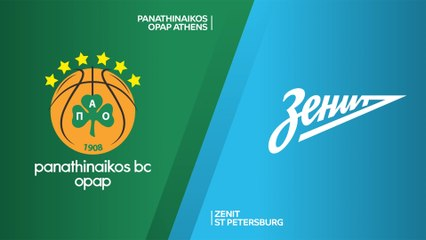 EuroLeague 2020-21 Highlights Regular Season Round 18 video: Panathinaikos 77-89 Zenit