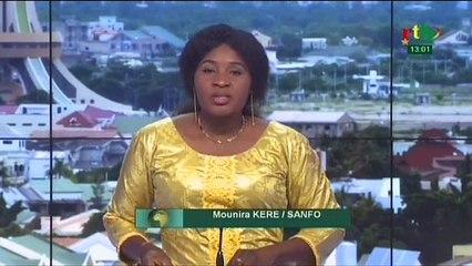 RTB/ Prise de fonction du Ministre des ressources animales et halieutiques, Dr Tegwendé Modeste Yerbanga