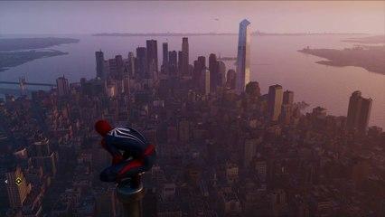 Quick Spiderman Remastered PS5 vs Miles Morales PS5 comparison