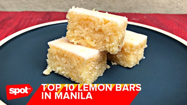 Where to Get the Best Lemon Bars in Manila
