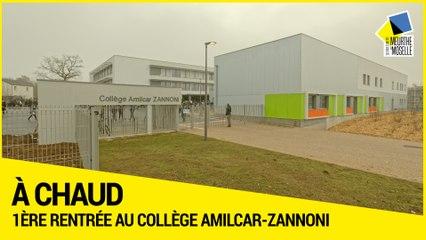 [A CHAUD] - Première rentrée au collège Amilcar-Zannoni d'Homécourt