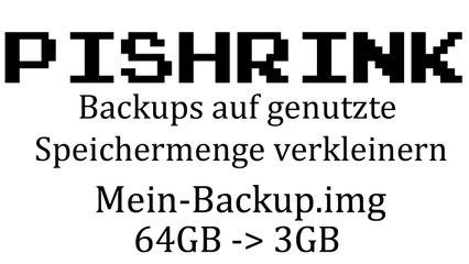[TUT] Raspberry Pi Backups verkleinern - PiShrink [4K   DE]