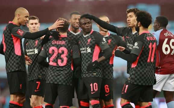 FA Cup - Mané forte tête face aux Aston Villa Juniors