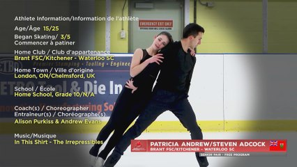 2021 Skate Canada Challenge: Senior Pair Free Program