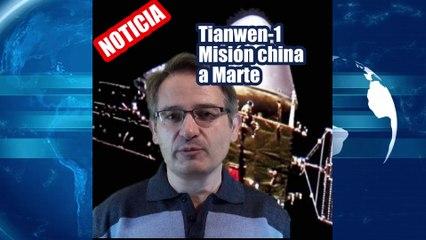 Misión China Tianwen-1 a Marte supera los 400 millones de km y entrará en la órbita del Planeta Rojo el próximo mes