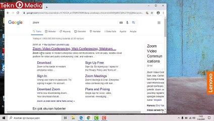 Zoom nasıl indirilir zoom nasıl kurulur  zoom nasıl kullanılır? zoom programı nasıl kullanılır