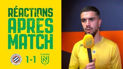 Montpellier HSC - FC Nantes : les réactions des joueurs