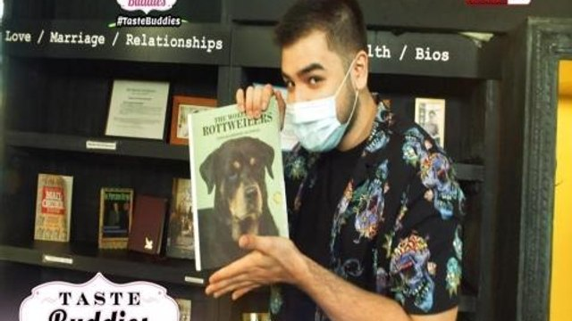 Taste Buddies: Andre Paras takes on the 'Grab a Book Challenge!'