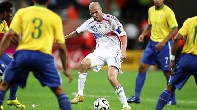 """""""Le France-Brésil de Zidane en 2006, c'est une oeuvre d'art"""""""