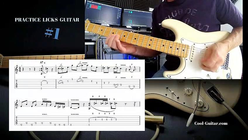 Guitar  Lessons (Practice Licks Guitar)