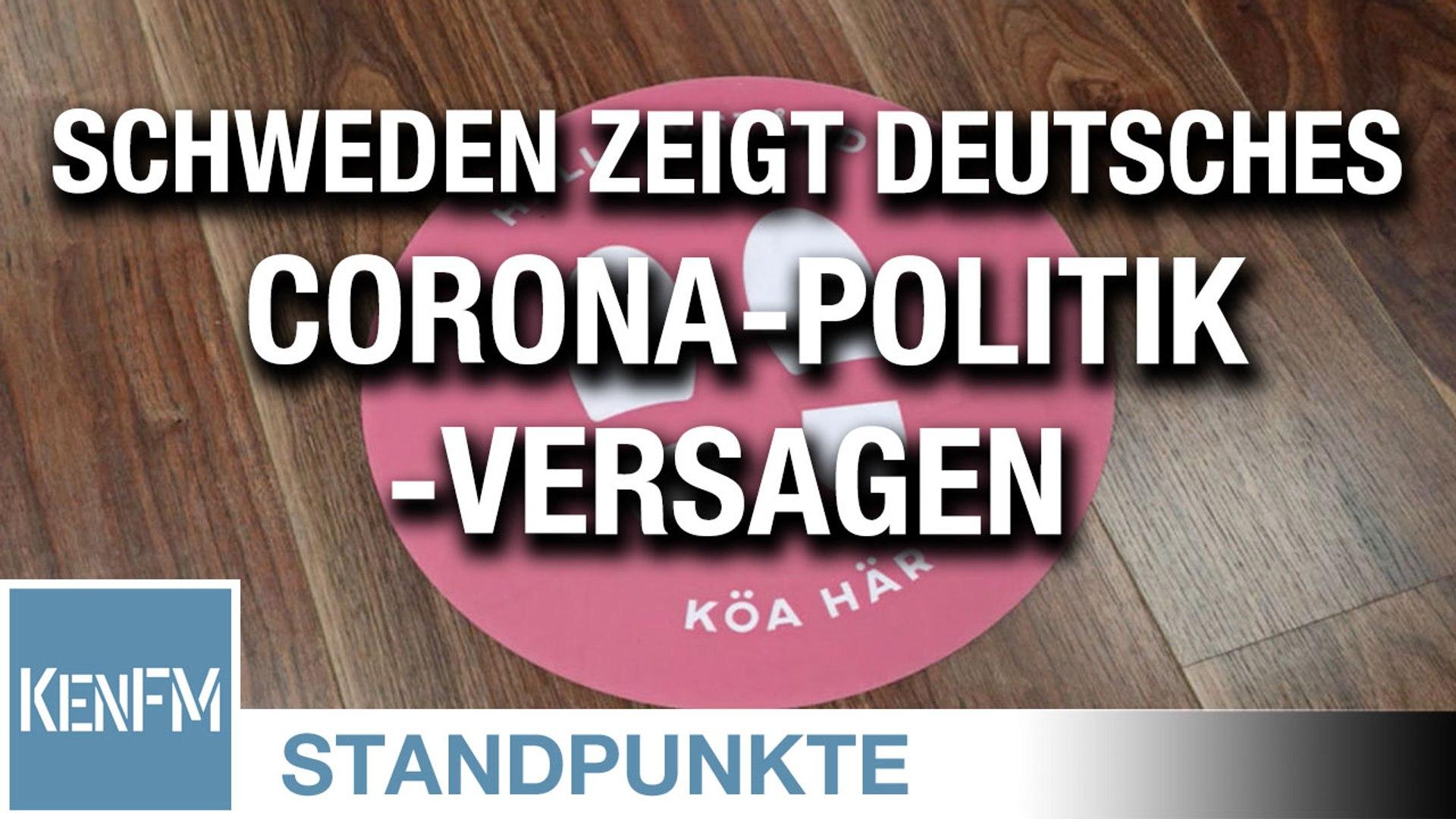 Schweden zeigt deutsches Corona-Politik-Versagen
