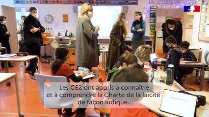 L'école Saint-Exupéry (Levallois-Perret) et la charte de la laïcité