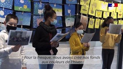 Les valeurs de la République au collège Ariane (Guyancourt)
