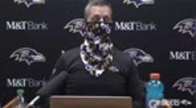 """Ravens - Harbaugh : """"Une inspiration phénoménale de Jackson"""""""