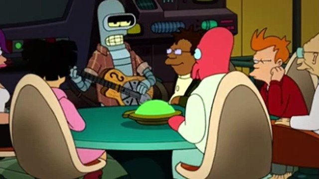 Futurama Season 7 Episode 17 Forty Percent Leadbelly