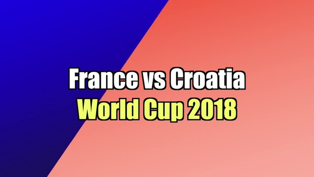 All World Cup Finals in (1998-2018)
