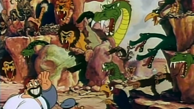 Popeye The Sailor Animation Marathon 9 episodes part 1/2