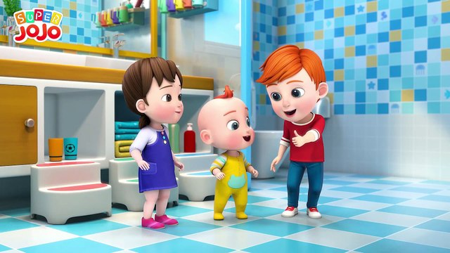 Wash Your Hands Song - Healthy Habits For Kids + More Nursery Rhymes & Kids Songs - Super JoJo