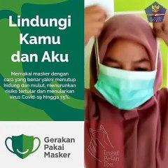Lindungi Kamu Dan Aku, Gerakan Pakai Masker