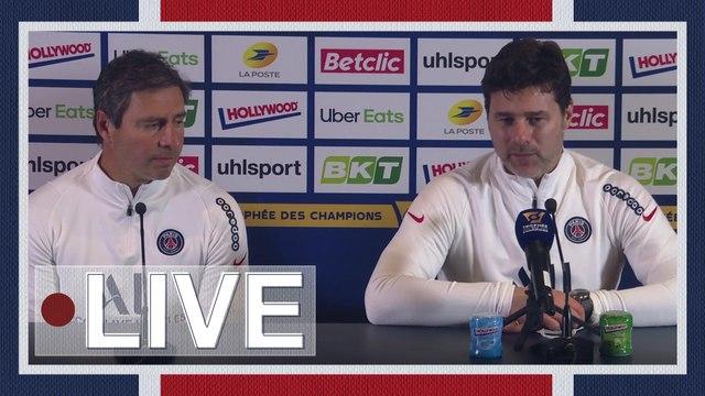 Replay : Conférence de presse de Mauricio Pochettino avant Paris Saint-Germain - Olympique de Marseille