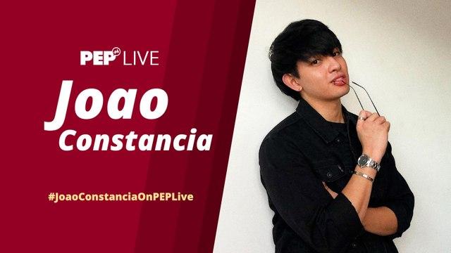 WATCH: Joao Constancia on PEP Live!