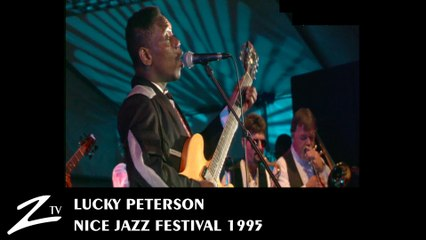 Lucky Peterson - Nice Jazz Festival 1995 - LIVE HD