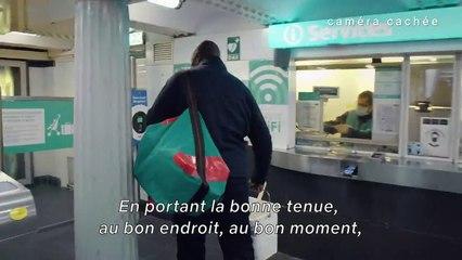 Lupin : Quand Omar Sy colle les affiches dans le métro