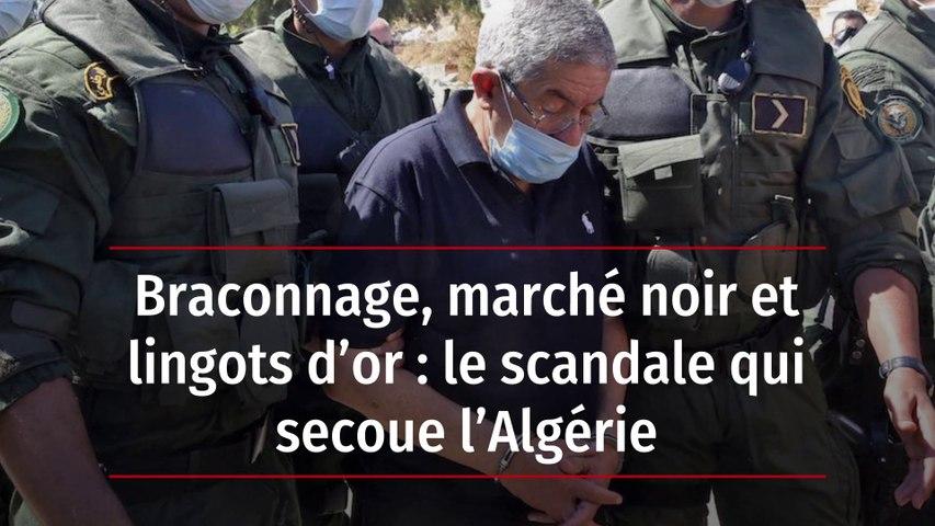 Braconnage, marché noir et lingots d'or : le scandale qui secoue l'Algérie