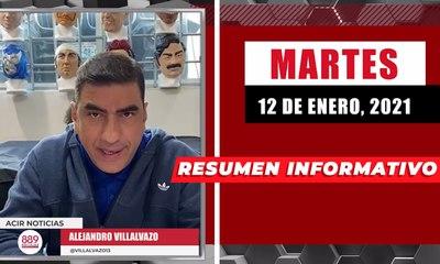 Resumen de noticias martes 12 de enero  2021 / Panorama Informativo / 88.9 Noticias