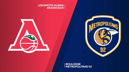 7Days EuroCup Highlights Top 16, Round 1: Lokomotiv 79-83 Metropolitans