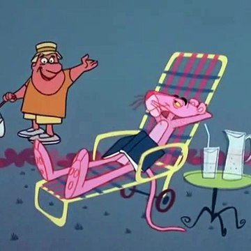 The Pink Panther. Ep-011. Pink panzer. 1965  TV Series. Animation. Comedy