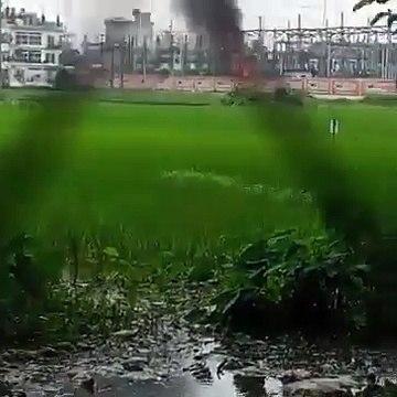 ময়মনসিংহ পিডিবির সাব-স্টেশনে ভয়াবহ অগ্নিকান্ড। পুরো ময়মনসিংহ বিদ্যুৎ বিচ্ছিন্ন _ Fire PDB Mymensingh