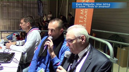 Interview Christian Lacoste par Fabien Amar, Euro masculin, Nice 2016