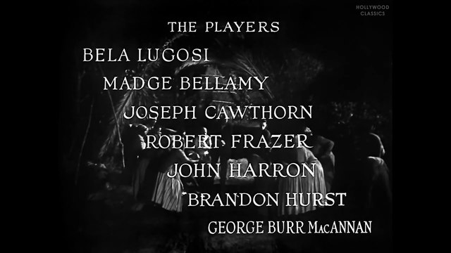 White Zombie (1932) | Full Movie | Bela Lugosi, Madge Bellamy, Joseph Cawthorn part 1/2