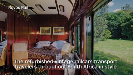 Les 10 voyages en train les plus luxueux du monde