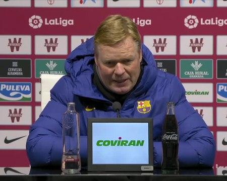 18e j. - Koeman est ravi de l'efficacité retrouvé de Messi