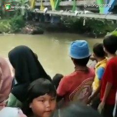 Bocah 3 Tahun Tenggelam di Sungai Pelangi Banten Lama