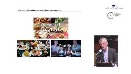 Rencontres des Gobelins : La table, c'est tout un art !