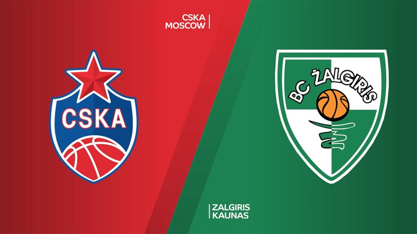 CSKA Moscow - Zalgiris Kaunas Highlights | EuroLeague, RS Round 19