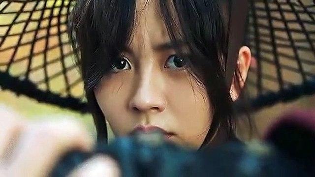 Kim So Hyun as Princess PyeonggangYeom Ga Jin in River Where the Moon Rises 1st teaser