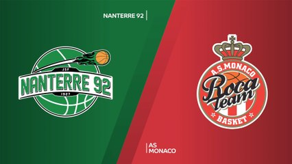 7Days EuroCup Highlights Top 16, Round 1: Nanterre 65-93 Monaco
