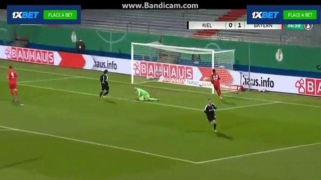 BIG GOAL!!   Bartels F - Holstein Kiel  1  -  1  Bayern Munich  13 .1.2021